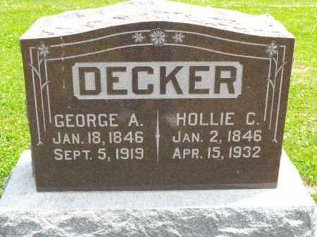 FRIEND DECKER, HOLLIE C. - McDonough County, Illinois | HOLLIE C. FRIEND DECKER - Illinois Gravestone Photos