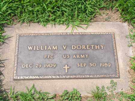 DORETHY, WILLLIAM V. - McDonough County, Illinois | WILLLIAM V. DORETHY - Illinois Gravestone Photos