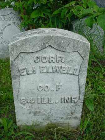 ELWELL, ELI - McDonough County, Illinois   ELI ELWELL - Illinois Gravestone Photos