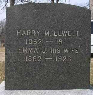 ELWELL, HARRY M. - McDonough County, Illinois   HARRY M. ELWELL - Illinois Gravestone Photos
