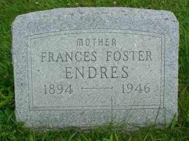 FOSTER ENDRES, FRANCES - McDonough County, Illinois | FRANCES FOSTER ENDRES - Illinois Gravestone Photos