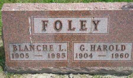 FOLEY, BLANCHE L. - McDonough County, Illinois | BLANCHE L. FOLEY - Illinois Gravestone Photos
