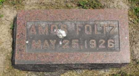 FOLTZ, AMOS - McDonough County, Illinois | AMOS FOLTZ - Illinois Gravestone Photos