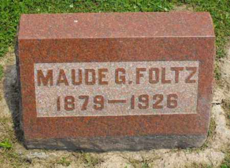 FOLTZ, MAUDE G. - McDonough County, Illinois | MAUDE G. FOLTZ - Illinois Gravestone Photos