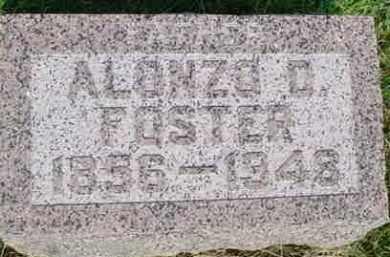 FOSTER, ALONZO D. - McDonough County, Illinois | ALONZO D. FOSTER - Illinois Gravestone Photos
