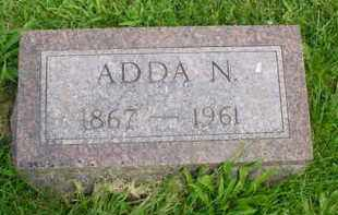 FOSTER, ADDA N. - McDonough County, Illinois | ADDA N. FOSTER - Illinois Gravestone Photos