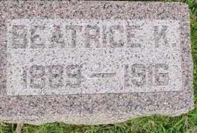 FOSTER, BEATRICE K. - McDonough County, Illinois | BEATRICE K. FOSTER - Illinois Gravestone Photos