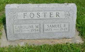 FOSTER, CAROLINE M. - McDonough County, Illinois | CAROLINE M. FOSTER - Illinois Gravestone Photos