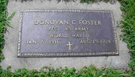 FOSTER, DONOVAN C. - McDonough County, Illinois | DONOVAN C. FOSTER - Illinois Gravestone Photos