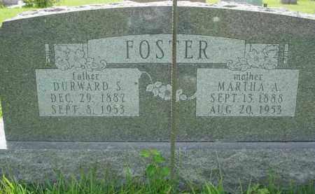 FOSTER, MARTHA A. - McDonough County, Illinois | MARTHA A. FOSTER - Illinois Gravestone Photos