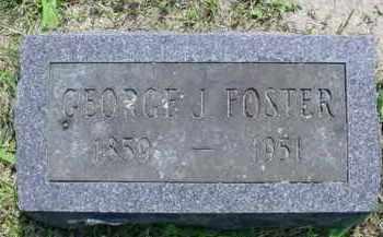 FOSTER, GEORGE J. - McDonough County, Illinois | GEORGE J. FOSTER - Illinois Gravestone Photos
