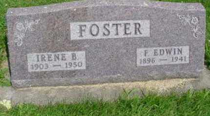 FOSTER, F. EDWIN - McDonough County, Illinois | F. EDWIN FOSTER - Illinois Gravestone Photos