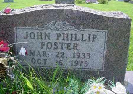FOSTER, JOHN PHILLIP - McDonough County, Illinois | JOHN PHILLIP FOSTER - Illinois Gravestone Photos