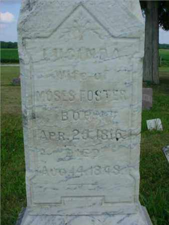 FOSTER, LUCINDA - McDonough County, Illinois | LUCINDA FOSTER - Illinois Gravestone Photos