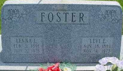FOSTER, LENNA L. - McDonough County, Illinois | LENNA L. FOSTER - Illinois Gravestone Photos