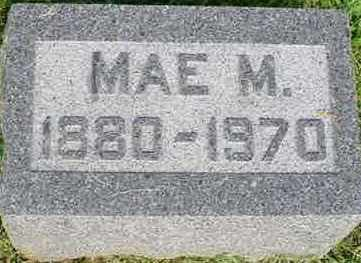 FOSTER, MAE M. - McDonough County, Illinois | MAE M. FOSTER - Illinois Gravestone Photos