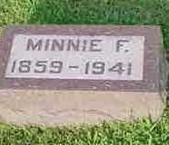 FOSTER, MINNIE F. - McDonough County, Illinois | MINNIE F. FOSTER - Illinois Gravestone Photos