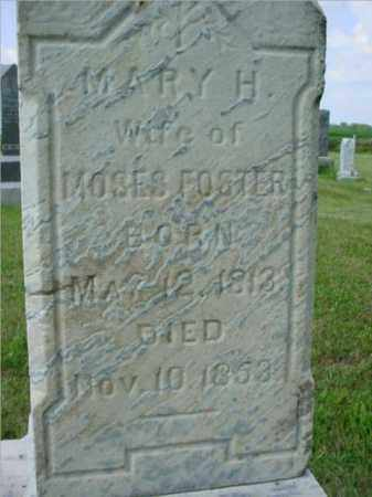 MCCORD FOSTER, MARY H. - McDonough County, Illinois | MARY H. MCCORD FOSTER - Illinois Gravestone Photos