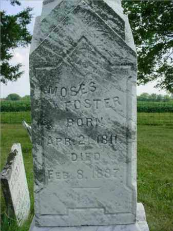 FOSTER, MOSES - McDonough County, Illinois | MOSES FOSTER - Illinois Gravestone Photos