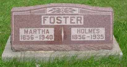 FOSTER, MARTHA - McDonough County, Illinois | MARTHA FOSTER - Illinois Gravestone Photos