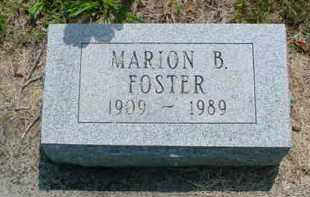 FOSTER, MARION B. - McDonough County, Illinois | MARION B. FOSTER - Illinois Gravestone Photos