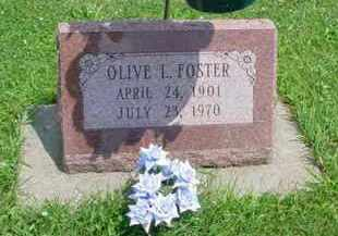 FOSTER, OLIVE L. - McDonough County, Illinois | OLIVE L. FOSTER - Illinois Gravestone Photos