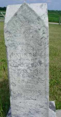 FOSTER, PARKER J. - McDonough County, Illinois | PARKER J. FOSTER - Illinois Gravestone Photos