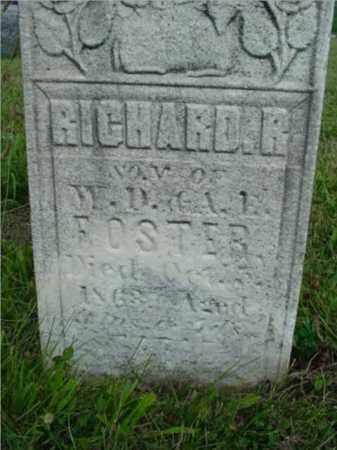 FOSTER, RICHARD R. - McDonough County, Illinois | RICHARD R. FOSTER - Illinois Gravestone Photos