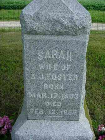 KELSO FOSTER, SARAH - McDonough County, Illinois | SARAH KELSO FOSTER - Illinois Gravestone Photos
