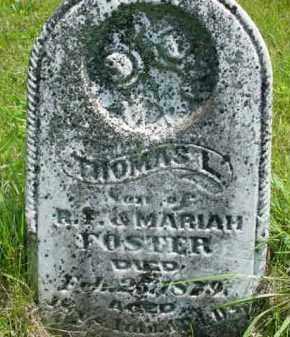 FOSTER, THOMAS L. - McDonough County, Illinois | THOMAS L. FOSTER - Illinois Gravestone Photos