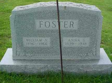 FOSTER, ANNA S. - McDonough County, Illinois | ANNA S. FOSTER - Illinois Gravestone Photos