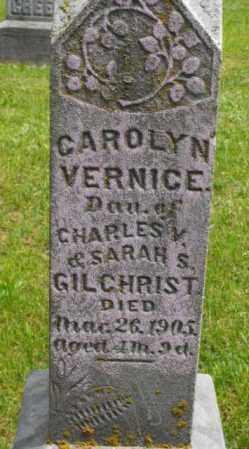 GILCHRIST, CAROLYN VERNICE - McDonough County, Illinois | CAROLYN VERNICE GILCHRIST - Illinois Gravestone Photos