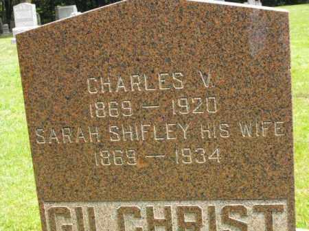 GILCHRIST, SARAH - McDonough County, Illinois   SARAH GILCHRIST - Illinois Gravestone Photos