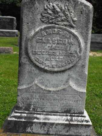 GLASGOW, AMOS R. - McDonough County, Illinois | AMOS R. GLASGOW - Illinois Gravestone Photos