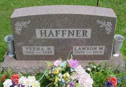 HAFFNER, LAWSON W. - McDonough County, Illinois   LAWSON W. HAFFNER - Illinois Gravestone Photos