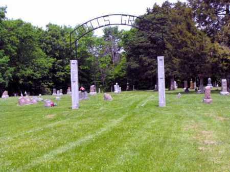 HILLS GROVE, ENTRANCE - McDonough County, Illinois | ENTRANCE HILLS GROVE - Illinois Gravestone Photos