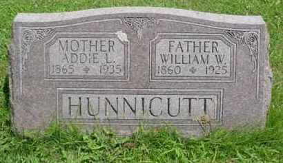 HUNNICUT, ADDIE L. - McDonough County, Illinois | ADDIE L. HUNNICUT - Illinois Gravestone Photos
