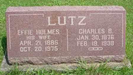 LUTZ, EFFIE - McDonough County, Illinois | EFFIE LUTZ - Illinois Gravestone Photos