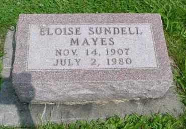 MAYES, ELOISE GLADYS - McDonough County, Illinois | ELOISE GLADYS MAYES - Illinois Gravestone Photos