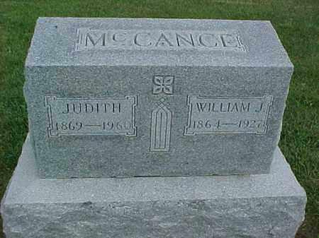 MCCANCE, WILLIAM J. - McDonough County, Illinois | WILLIAM J. MCCANCE - Illinois Gravestone Photos
