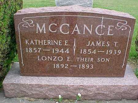 MCCANCE, LONZO E. - McDonough County, Illinois | LONZO E. MCCANCE - Illinois Gravestone Photos