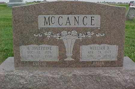 MCCANCE, MARY JOSEPHINE - McDonough County, Illinois | MARY JOSEPHINE MCCANCE - Illinois Gravestone Photos
