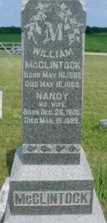 DECKER MCCLINTOCK, NANCY - McDonough County, Illinois | NANCY DECKER MCCLINTOCK - Illinois Gravestone Photos