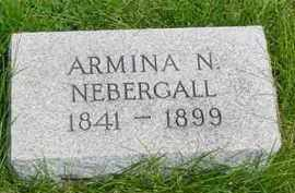 NEBERGALL, ARMINA N. - McDonough County, Illinois | ARMINA N. NEBERGALL - Illinois Gravestone Photos