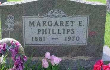 PHILLIPS, MARGARET E. - McDonough County, Illinois | MARGARET E. PHILLIPS - Illinois Gravestone Photos