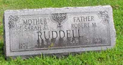 RUDDELL, ROBERT M. - McDonough County, Illinois | ROBERT M. RUDDELL - Illinois Gravestone Photos