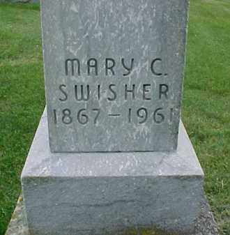 SWISHER, MARY C. - McDonough County, Illinois   MARY C. SWISHER - Illinois Gravestone Photos