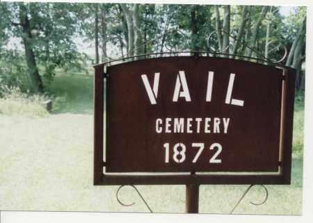 VAIL, CEMETERY - McDonough County, Illinois | CEMETERY VAIL - Illinois Gravestone Photos
