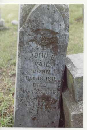 VAIL, JOHN BRIDGE - McDonough County, Illinois   JOHN BRIDGE VAIL - Illinois Gravestone Photos