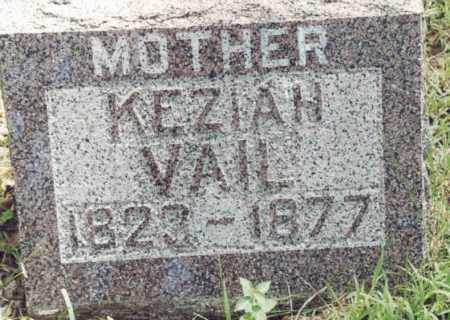 VAIL, KEZIAH - McDonough County, Illinois | KEZIAH VAIL - Illinois Gravestone Photos